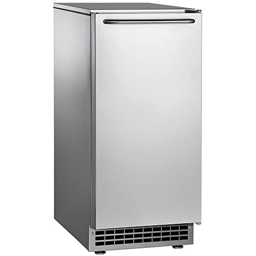 Ice Undercounter Maker Scotsman (Scotsman CU50PA Self Contained Gourmet Ice Maker, Air Condenser, 65 lb. Production, 26 lb. Storage)