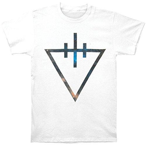 Devil Wears Prada Men's Triangle T-shirt Medium - Prada Triangle