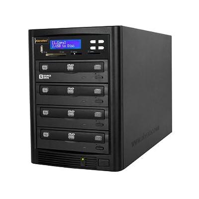 Image of Disc Duplicators Aleratec Direct V2 DVD CD Flash Copy Tower Optical Drives 310109 Black
