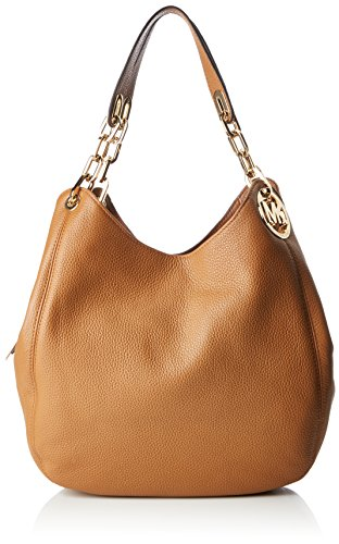 Michael Kors Fulton Leather Shoulder Bag- Acorn by Michael Kors