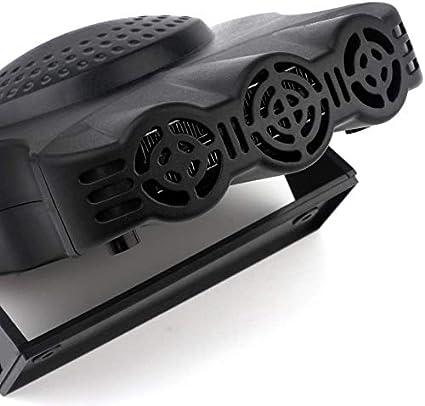 Auto Heater Fan,12V Auto Ceramic Heater,Car Defogger,Fast Heating Defrost Defogger Demister Vehicle Heat Cooling Fan 150W Auto Vehicle Electronic Heater Portable Car Heater