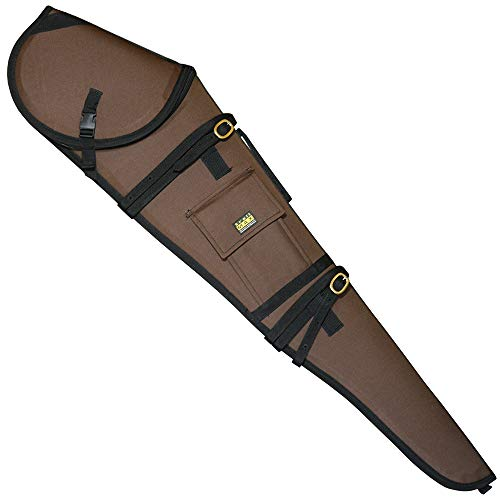 TrailMax Guardian Rifle Scabbard, Gun Case, Accommodates 30 inch Barrel & 56mm Scope with 1 inch Turrets, Secure on a Horse or ATV, Water Resistant 600 Denier Poly Shell, Choice of Color