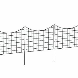 Amazoncom WamBam Fence Zippity Garden Fence Patio Lawn Garden
