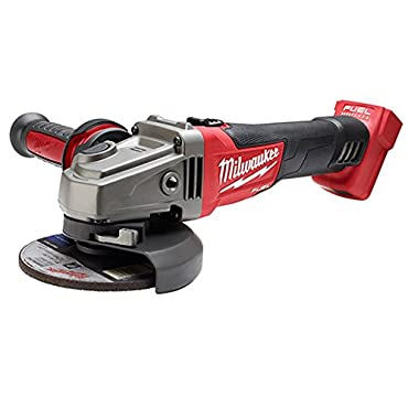 Milwaukee 2781-20 M18 Fuel 4-1/2/5 Grinder with Slide Switch, Bare Tool Only