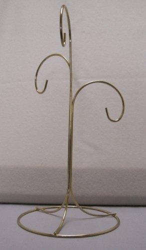 - TRIPAR SS-TRI-34122 3 Arm Brass Finish Ornament Stand