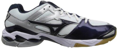 Mizuno Damen Wave Bolt 3 Volley Ball Schuh Weiß / Navy