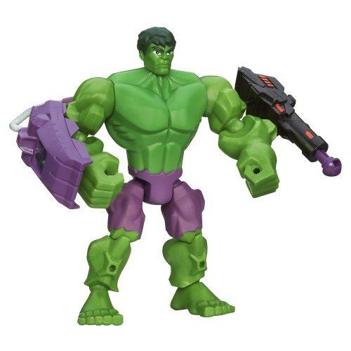 Marvel Super Hero Mashers Toy - Hulk 6 Inch Deluxe Action Figure - Avengers by Marvel Super Hero Mashers