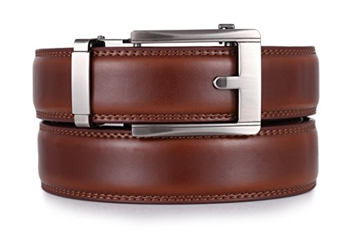 Mio Marino Ratchet Click Belts for Men - Mens Comfort Genuin