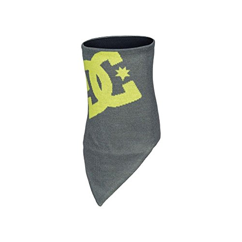 DC Shoes Mens Shoes Yad - Tube Scarf - Men - One Size - Black Pewter One Size from DC