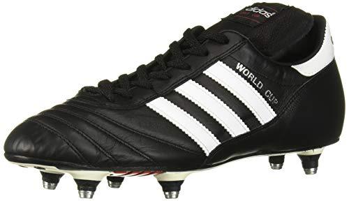 adidas Men's World Cup Soccer Shoe, Black/White, 7 M US