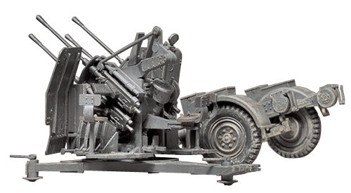 (Tamiya Models 20mm Quad Flak 38 Model Kit)
