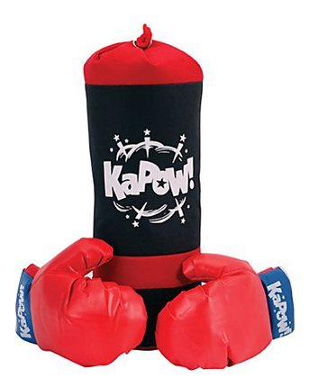 Schylling Punching Bag & Glove Set (for children)