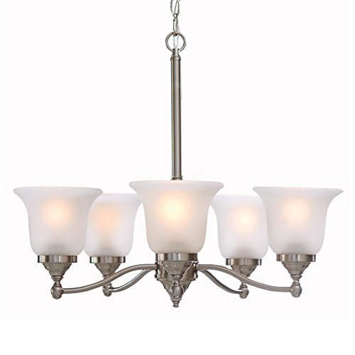 Amazon.com: Roseall - Lámpara de techo (5 unidades, níquel ...