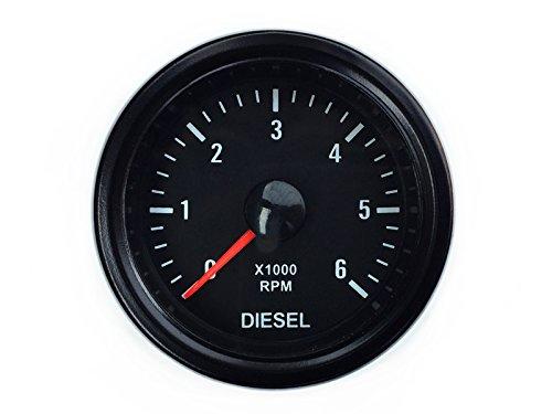 additional display additional instrument instrument speed rev//min RPM universal. Rev counter for diesel display 52 mm for alternator