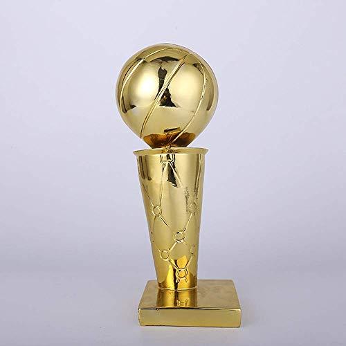 Baojintao Canadian Raptors NBA Champions Trophy Plating Golden Globe Award Trophy NBA Championship Trophy,Replica,Resin,Basketball Trophy,Basketball Fan Gifts,11.8in