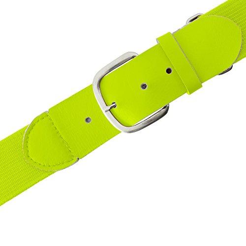 yellow baseball belt - 5