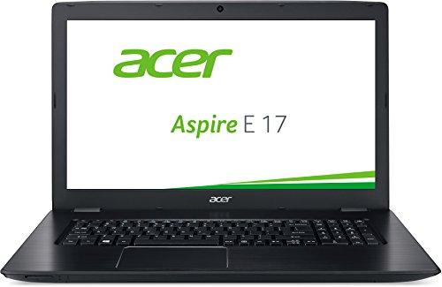 Acer Aspire E 17 (E5-774G-505R) 43.9cm (17.3 Zoll HD+) Notebook (Intel Core i5-6200U, 8GB RAM, 128GB SSD + 1000GB HDD, NVIDIA GeForce 940MX, DVD, Win 10 Home) schwarz