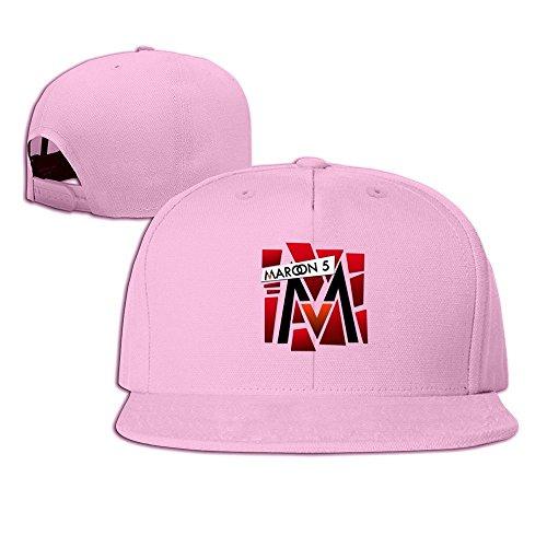 maneg-maroon-5-t-shirt-print-by-anubisphinx-d4y165w-unisex-fashion-cool-adjustable-snapback-baseball