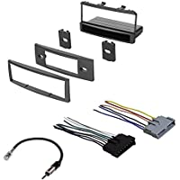 CAR RADIO STEREO RADIO KIT DASH INSTALLATION MOUNTING W/ WIRING HARNESS FOR MERCURY AND FORD 1999-2004