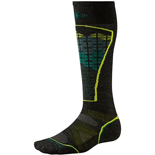 Smartwool Damen Socke PHD Ski Light Men'- Socken-Alpine/dunkelgrau, grün