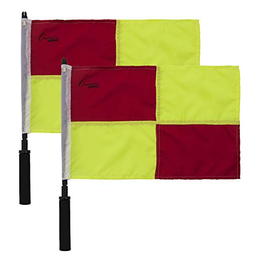 Champion Sports Soccer Linesman Official Checkered ()