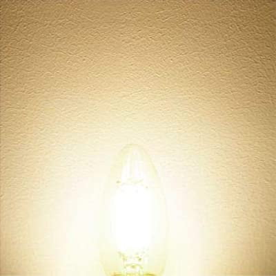 Hizashi 4W Dimmable E12 LED Candelabra Filament Bulb