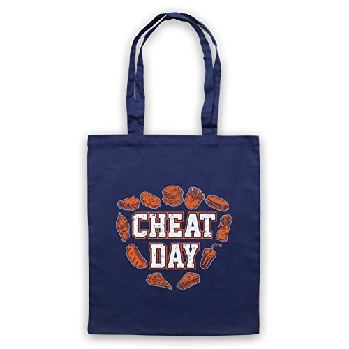 Slogan Sac Workout Bodybuilding Day d'emballage Cheat Bleu Fonce aqtwZg