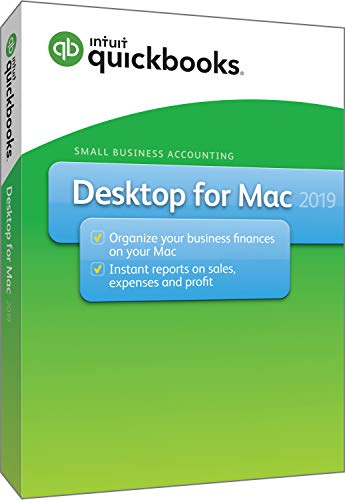Software : QuickBooks Desktop For Mac 2019 [Mac Disc]