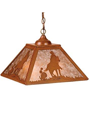 Meyda Tiffany 76321 Cowboy Pendant, 16 sq. in.