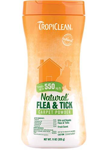 TropiClean Natural Flea and Tick Powder