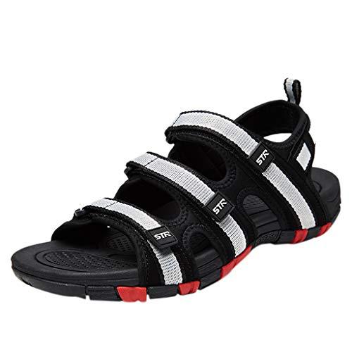 zitan Men's Waterproof Hiking Sandals Open-Toe Water Shoes Athletic Sport Sandals for Men Outdoor Beach Sandals Shoes