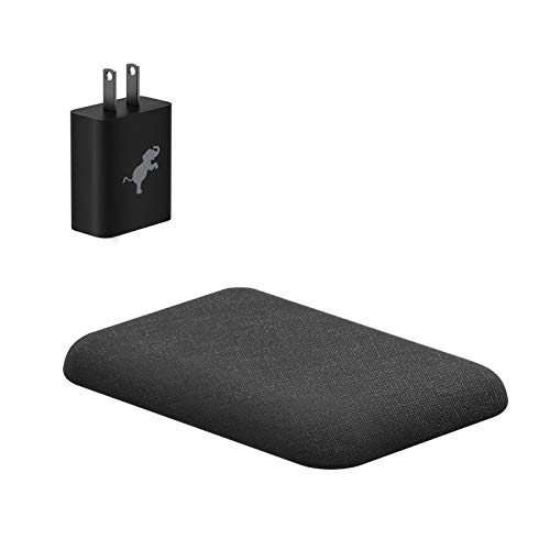 Nimble Wireless Pad, Fast 7.5/10w Wireless Charger Compatible with Apple iPhone 8/8 Plus, iPhone X, Samsung S9/S9+/S8/S8+/S7/Note 8, Qi Enabled Devices w/USB Wall Charger by Nimble