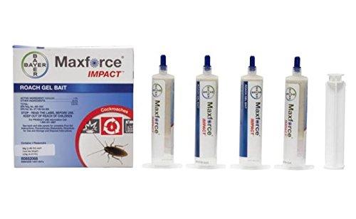 Bayer Maxforce Impact Roach Bait Gel 30g Reservoir , Four...