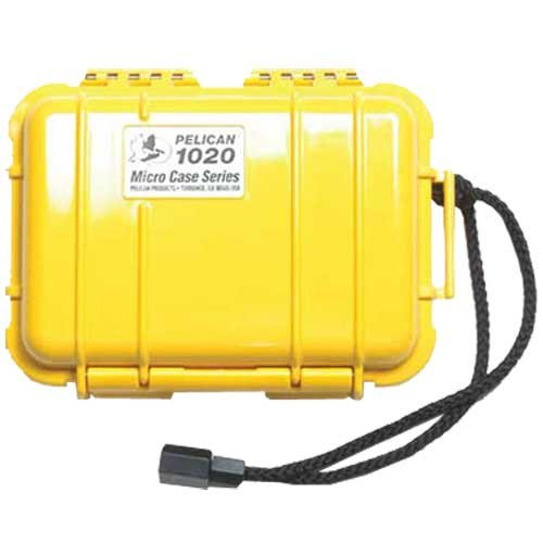 Micro Case Solid, Yellow, 6.38 x 4.75 x 2.13
