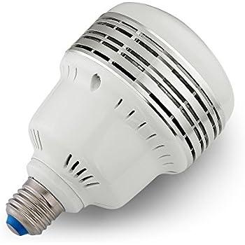Neewer 45W 5500K LED Daylight Balanced Light Bulb Lamp in E27 Socket for Photography and Video Lighting (45W 110V)