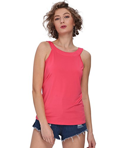 Payeel Halter Tank Tops for Women Round Neck Basic High Neck Tank (X-Large, (Halter Fairy Top)