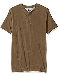 Men's Short Sleeve Henley Shirt
