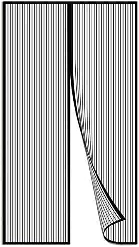 contra Insectos Mosquitera Magn/ética Se Cierra Magn/éticamente al Instante para Puertas de Sal/ón 31x79inch Balc/ón Corredor Aibingbao Cortina Mosquitera Magn/ética 80x200cm Blanco