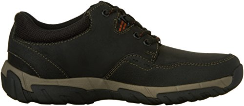 CLARKS Men's Walbeck Edge Oxford Black Leather visit new cheap price sale collections uklrZqMAe