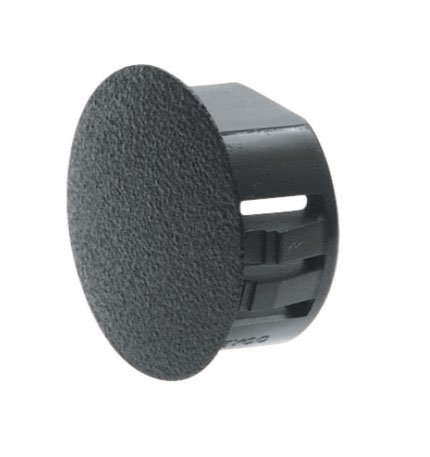 Heyco 2503 DD-750-625 BLACK DOUBLE D HOLE PLUG (CARTON QTY: 8500)