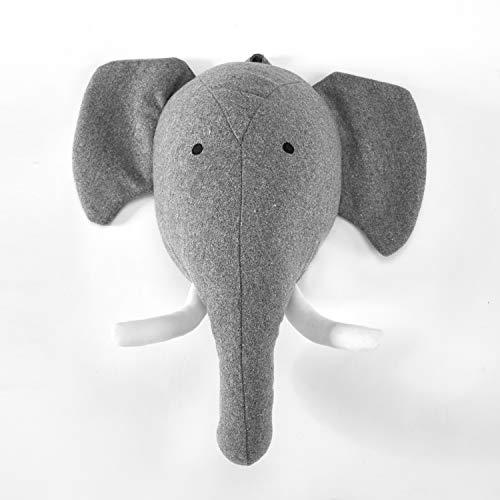 (Elephant Stuffed Animal Wall Mount)