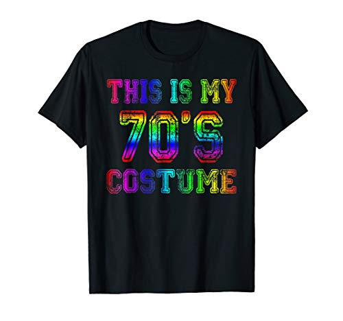 This is my 70's Costume Shirt 1970s Halloween Costume Gifts ()