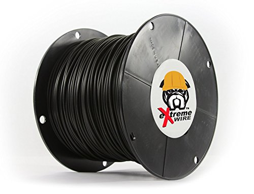 Insulated Dog Kennel Jacket - Pet Fence Pros 1000 Foot Spool Foot ProGrade HD16 gauge AWG PE Dog Fence Wire