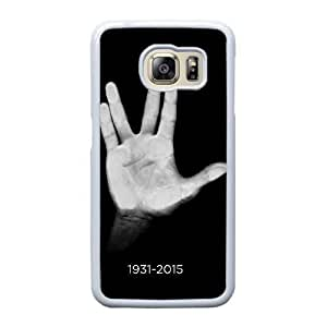 Wunatin Hard Case ,Samsung Galaxy S6 Edge Cell Phone Case White Star Trek [with Free Touch Stylus Pen] BA-2232166