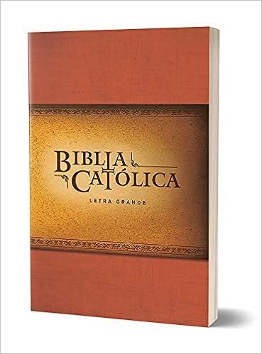 BIBLIA CATOLICA RUSTICA ROJA