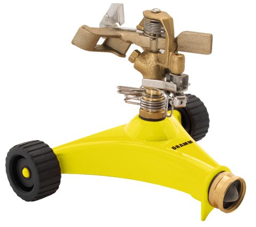 Dramm 15033 Impulse Sprinkler, Yellow