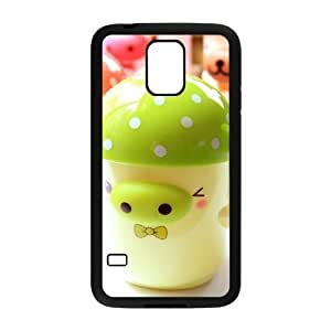 Custom Cover Case with Hard Shell Protection for SamSung Galaxy S5 I9600 case with Cartoon pig lxa#973568