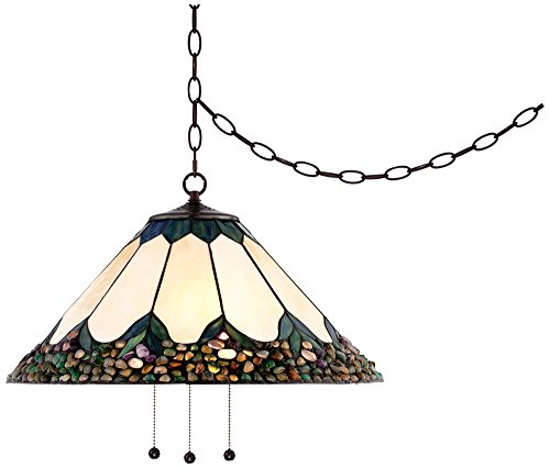 Cut Glass Pendant Light - 1