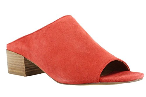 Franco Sarto Women's Arcadia Mules Red Suede