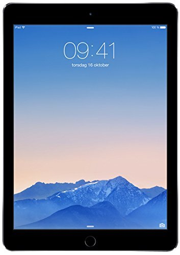 Apple iPad Air MH312LL/A (128GB, Wi-Fi + Cellular, Space Gray) 2014 Model